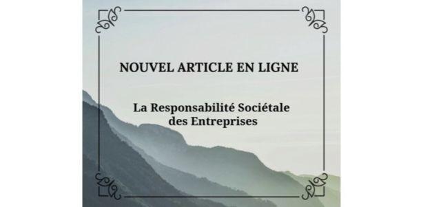 La Responsabilité Sociétale des Entreprises Ethan McGregor